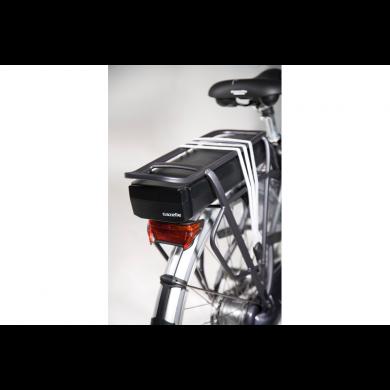 Gazelle fietsaccu Panasonic Zilver